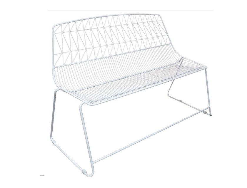 white arrow bench seat