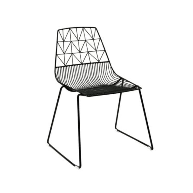 black bespoke chair