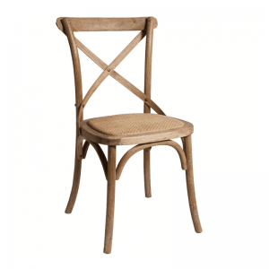 New - Cross back chairs. Contemporary chairs Oak. new furniture hire
