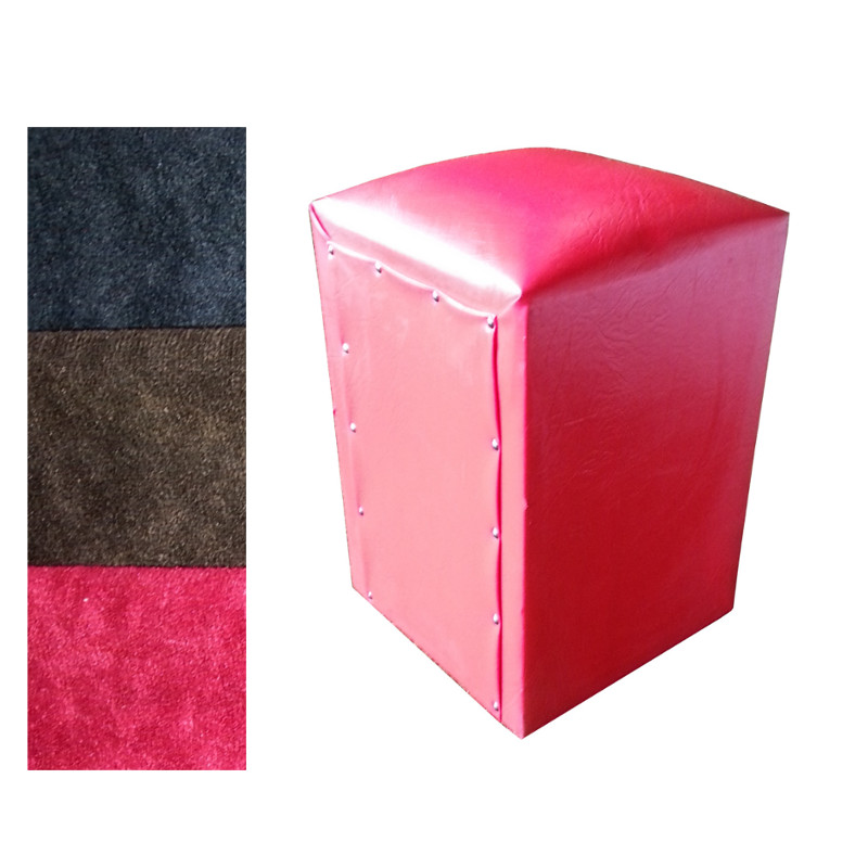 different colour of cube chairs