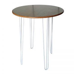 tall bar table black