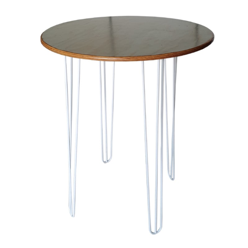 tall bar table black