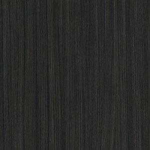 Black timber floor