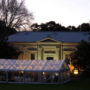 Botanic gardens pavilion