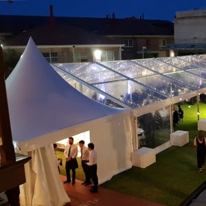 pagoda catering marquee