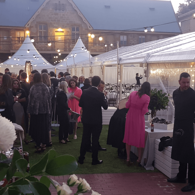 Wedding Hire Adelaide museum sa armoury lawns