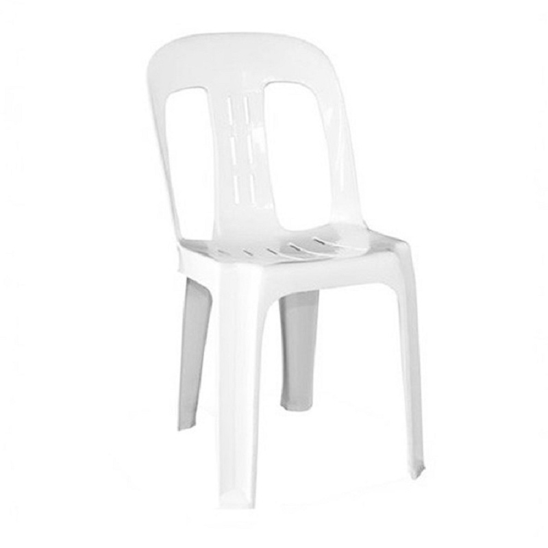 plastic seating white