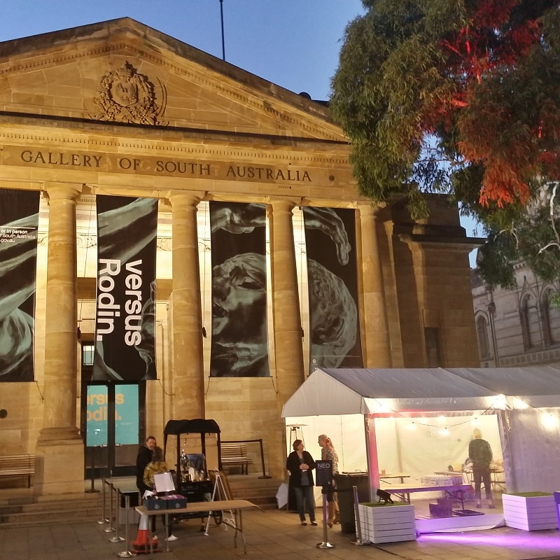 Pavilion Hire,Marquee and Pavilion Hire For Weddings, Functions & Events Pavilion Hire North Terrace adelaide AGSA Neo
