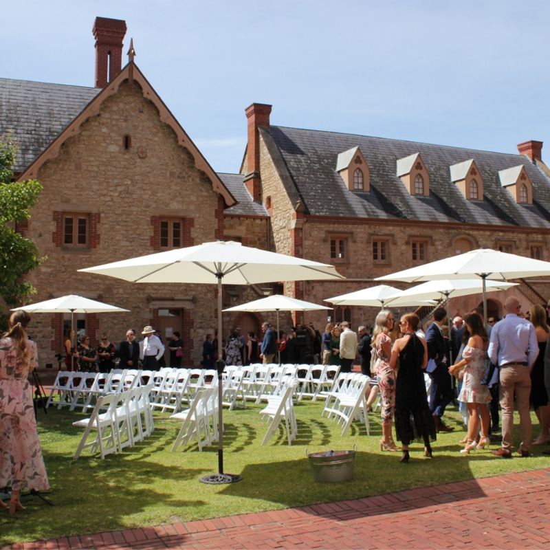 South Australian Museum wedding Wedding Hire Adelaide museum courtyard