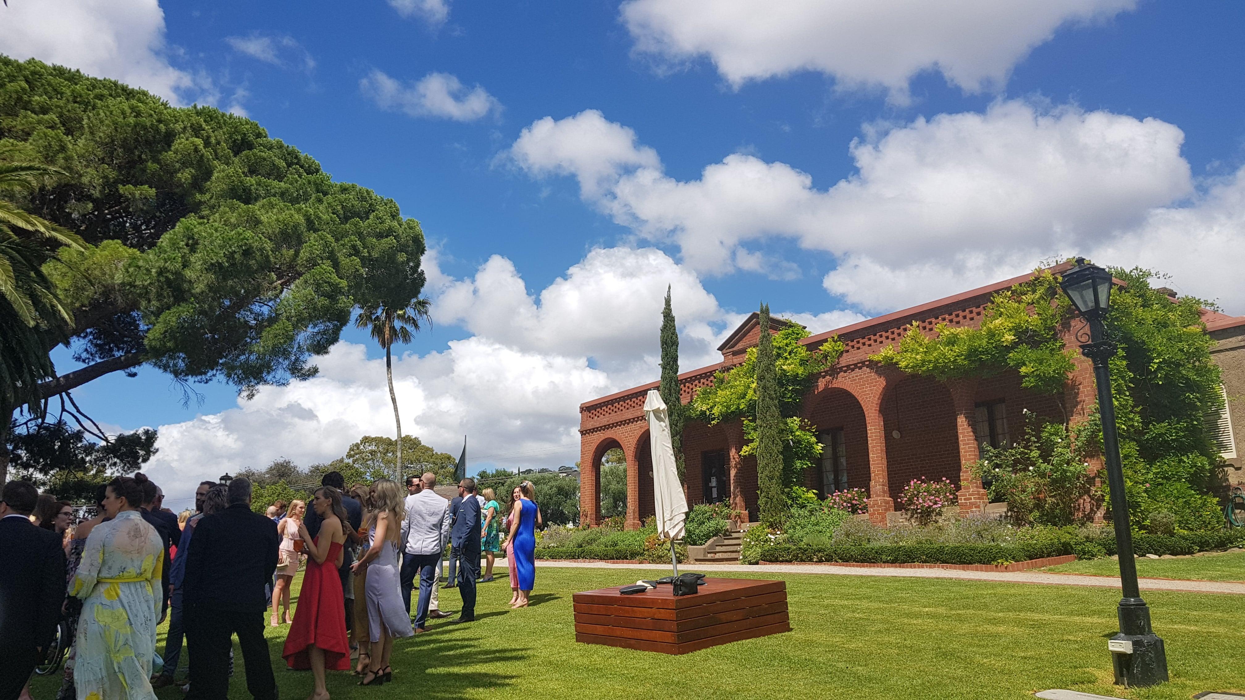 Beaumont House wedding