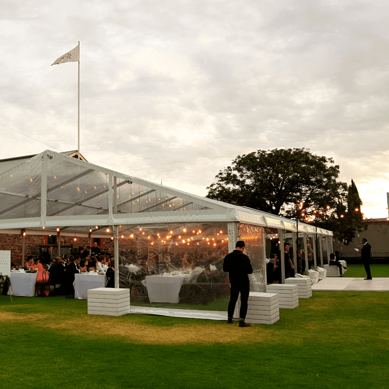 Pavilion wedding at Magill