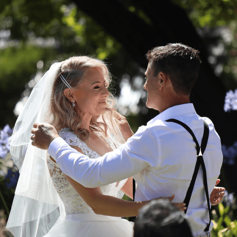 D & M australain Hiring Company wedding at Beaumont House
