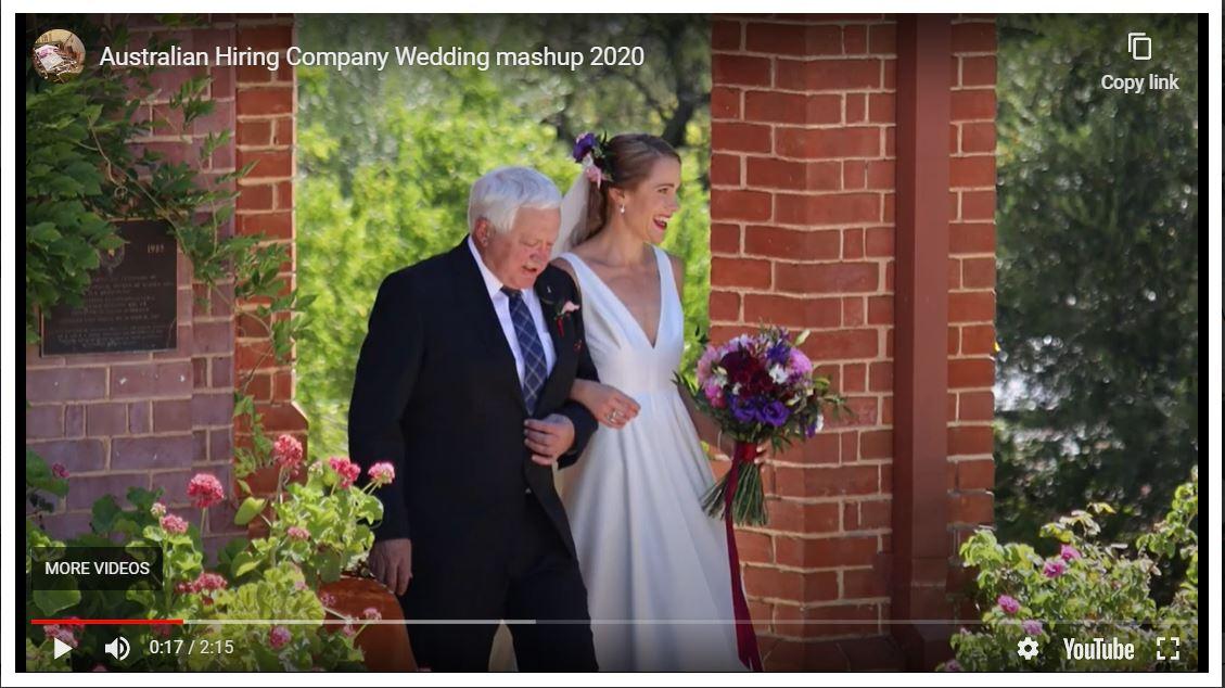 AHC Wedding mashup
