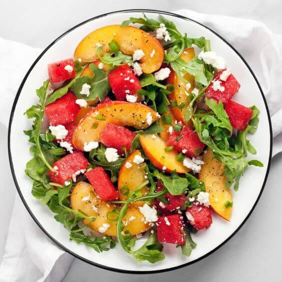 Inner Health Peach And Watermelon Salad