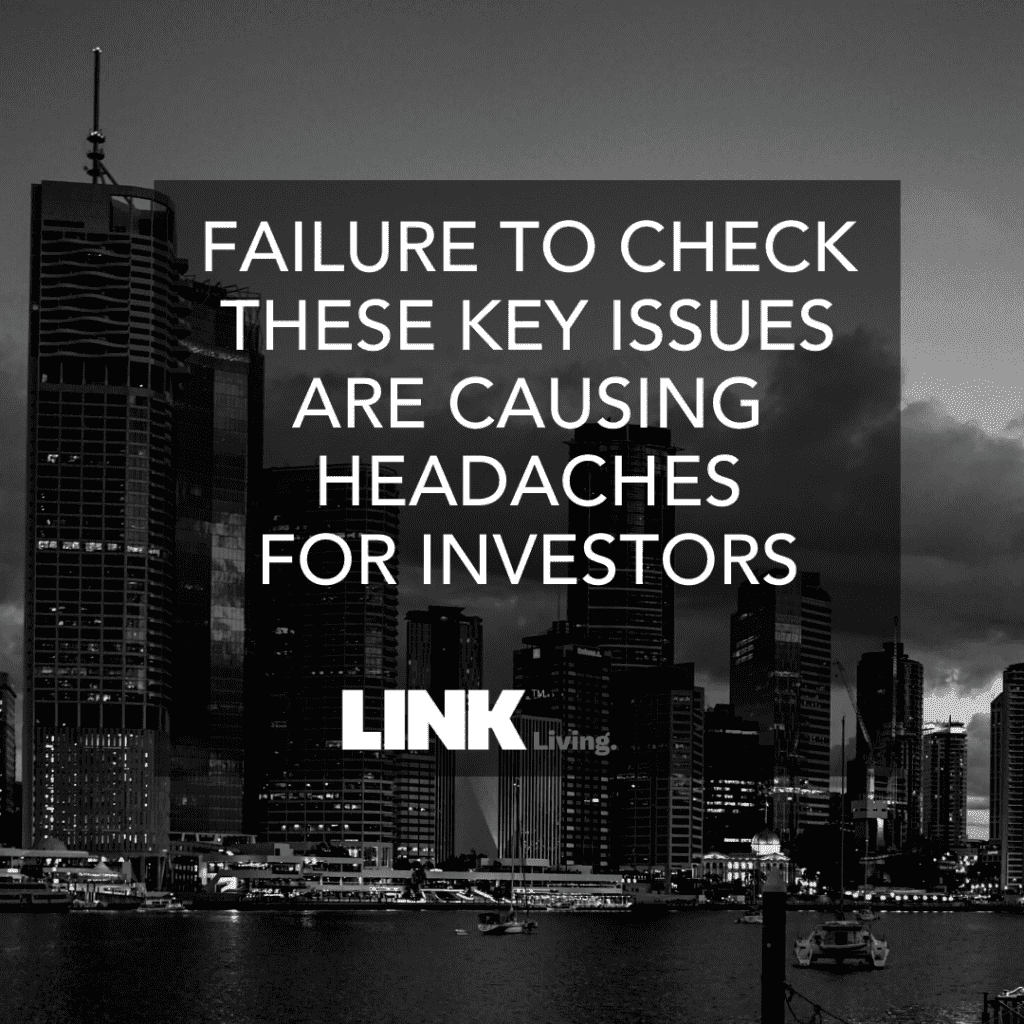 Failure To Check These Key Issues Are Causing Headaches For Investors (1)
