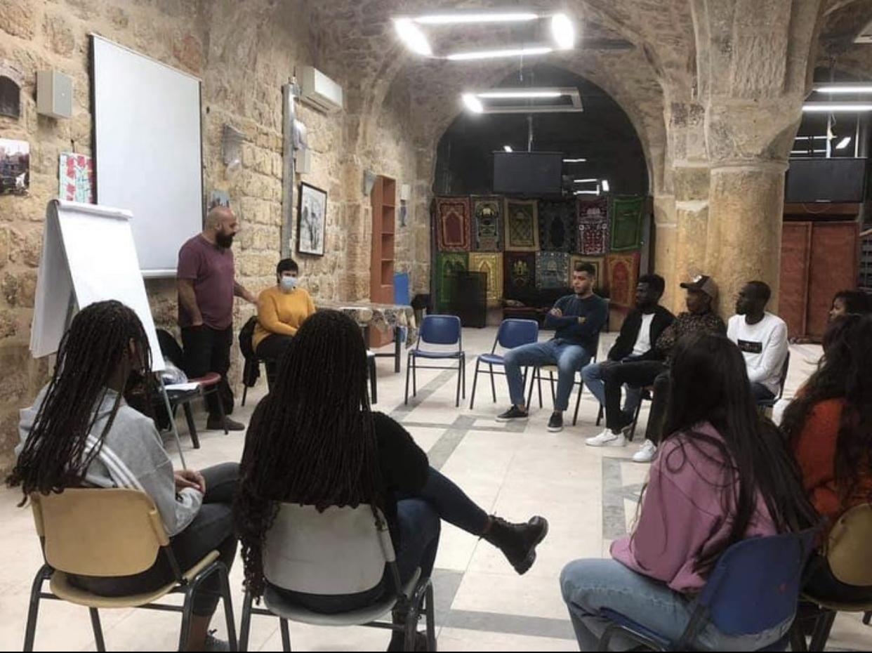 القدس جمعية الجالية الافريقية