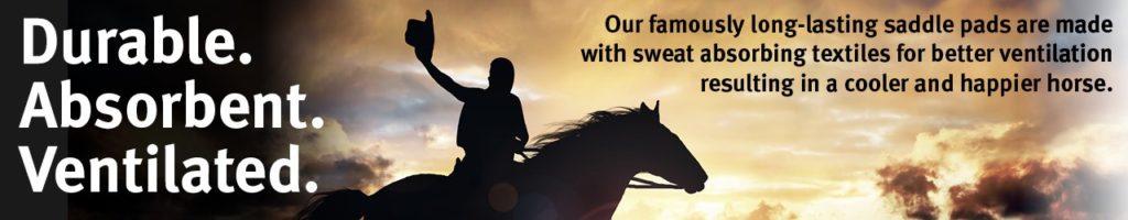 saddle pad breathable ventilate
