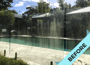 Glass Fence Clean
